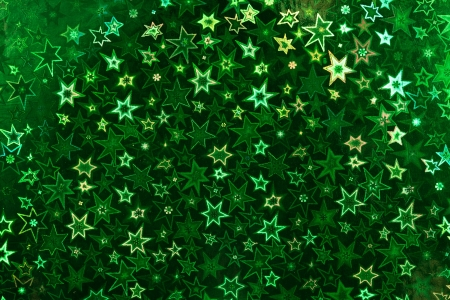 holographic: Green holographic paper texture  Christmas background