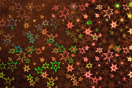 holographic: Brown holographic paper texture  Christmas background