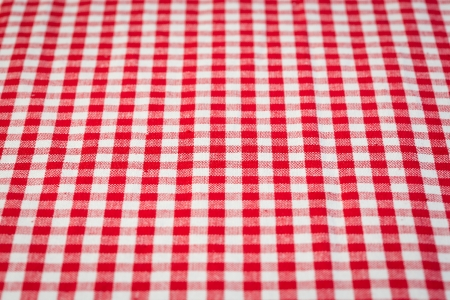 picnic tablecloth: Red and white gingham tablecloth background