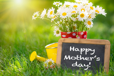 Mothers day greeting concept Stock Photo