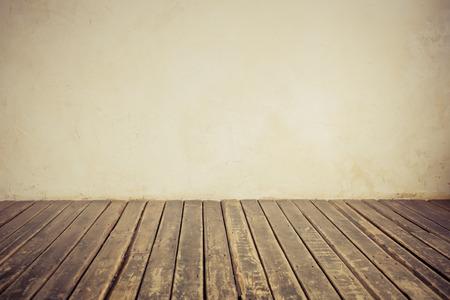 dřevěný: Staré zdi a podlahy. Kopírovat prostor