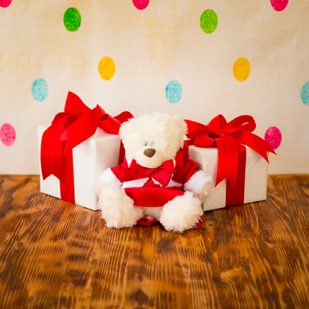 christmas decorations: Christmas decorations. Xmas holiday concept Stock Photo