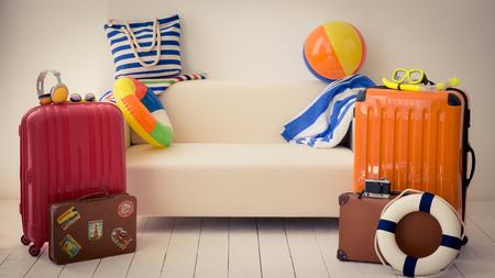 Bereit für einen Sommerurlaub