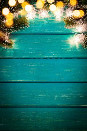 christmas lights background: Christmas Xmas Lights Frame Border