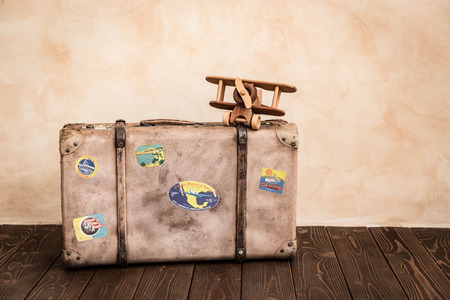 grunge backgrounds: Retro nautical objects. Summer travel and adventure concept Stock Photo
