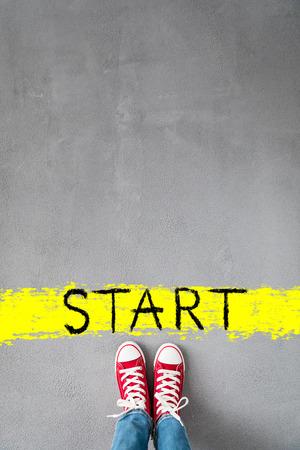 Start! Healthy lifestyle concept Stok Fotoğraf - 116944079