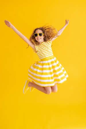 Portrait of cheerful girl. 스톡 콘텐츠
