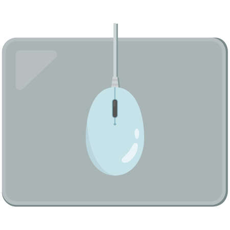 Simple Mouse Pad and Mouse