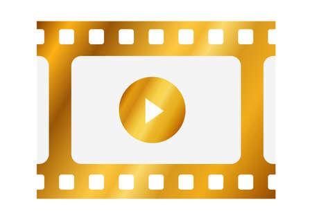 Video icons like gold film