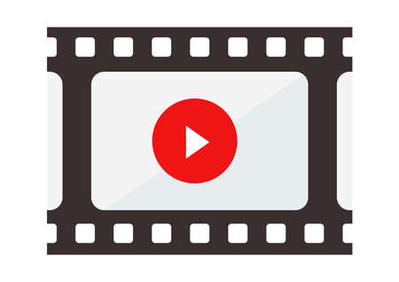 Movie icons like film