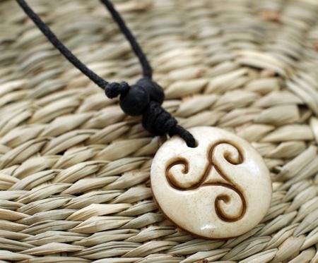 amulet: wooden magic amulet