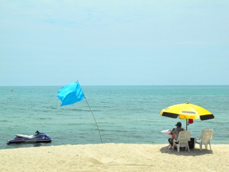 tropical beach , Koh Samui, Thailand                       photo