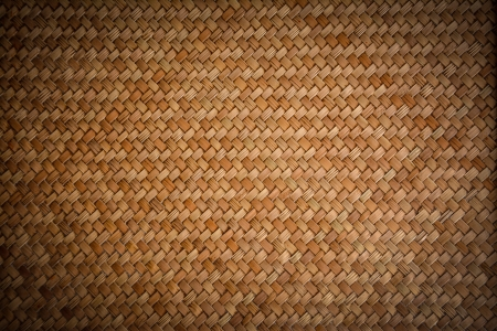 Old woven wood pattern - lomo Reklamní fotografie - 23833308