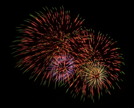 A large Fireworks Display event   photo