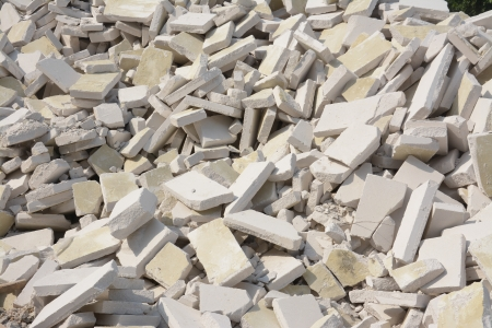 rubble: Rubble From A Demolished Building