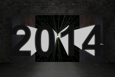 2014 Happy New Year background photo