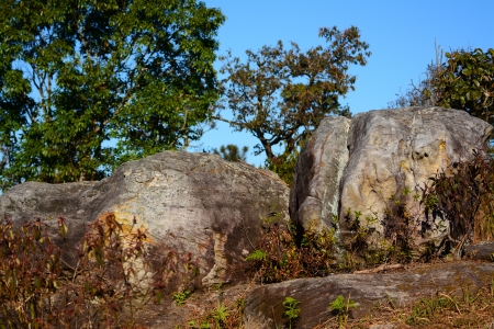 stone on Phu Rua mountain , Thailand  photo