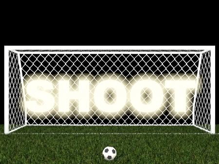 goalline: shoot,penalty area