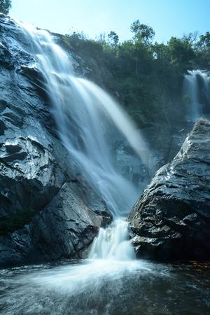 tone-ngachang waterfall   in Songkhla, Thailand photo