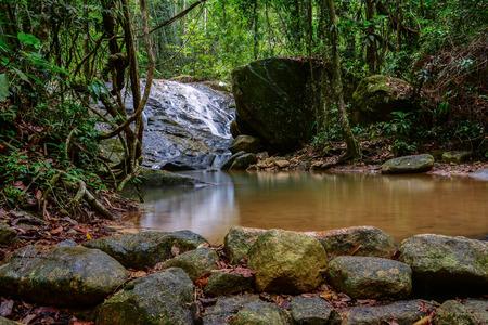 Krating Waterfall National Park in Chantaburi, Thailand  photo