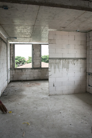 Building inside under construction photo