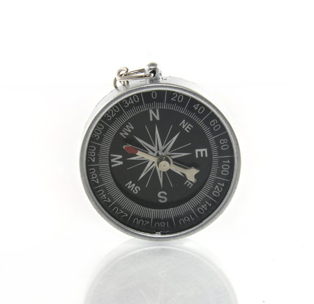 Compass with clipping path photo