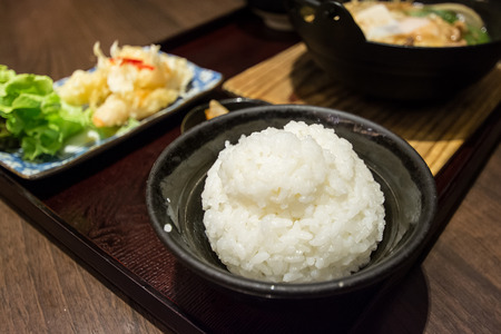 hashi: Japanese rice