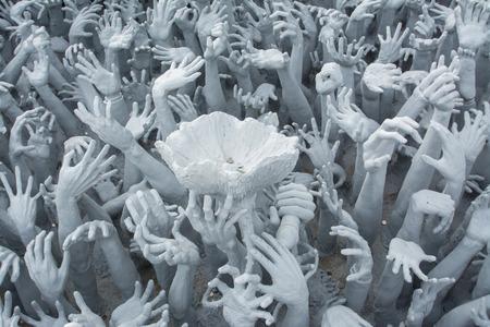 Devil hands photo