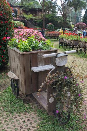 Garden of Doi Tung Royal Villa, Chiang Rai, Thailand photo
