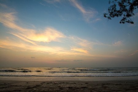Sampraya beach in Samroiyod nation park, Pranburi, Prachuap Khiri Khan, Thailand photo