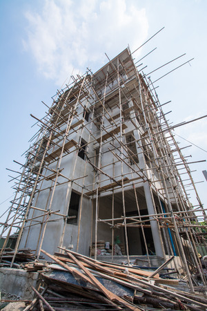 residential construction: New Residential Home under Construction