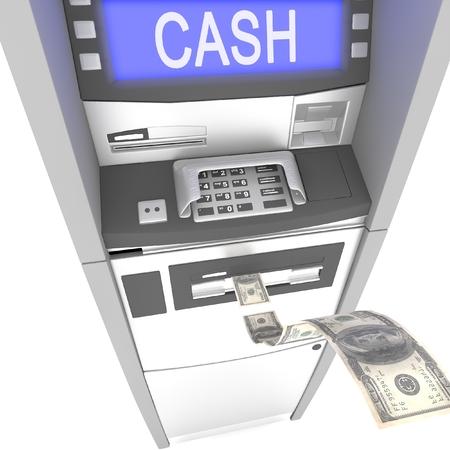 cash machine: atm cash machine