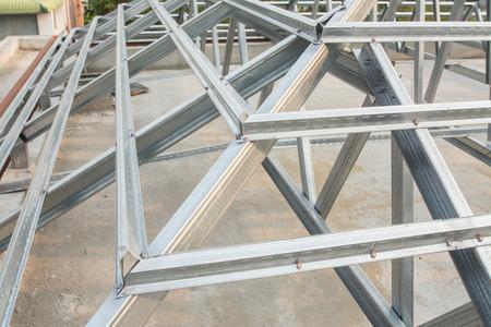 lens unit: metal roof structure