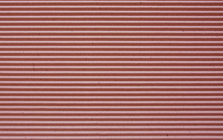goffer: red  corrugated paper background. Stock Photo