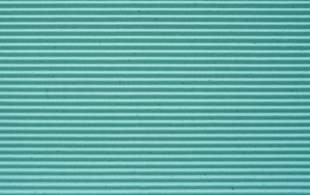 goffer: green corrugated paper background. Stock Photo