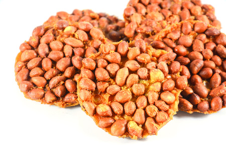 groundnut: Thai peanut cracker made by peanut or groundnut