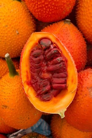 Gac Fruit Momordica cochinchinensis photo