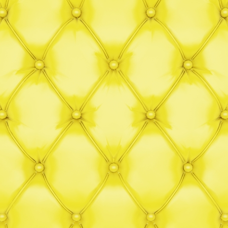 pattern is: yellow Leather Upholstery Background Stock Photo