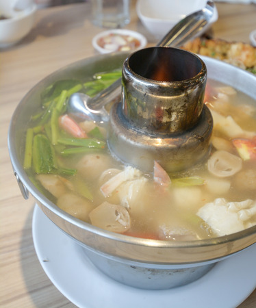 gung: tom yam soup Stock Photo