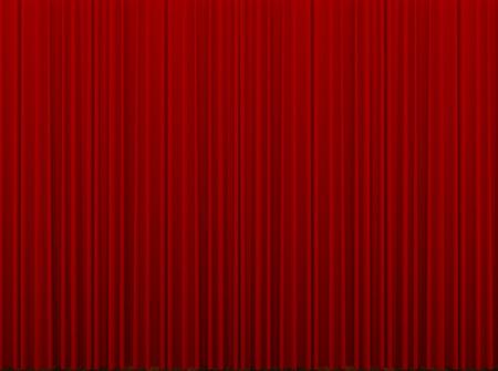 sipario chiuso: Red sipario chiuso
