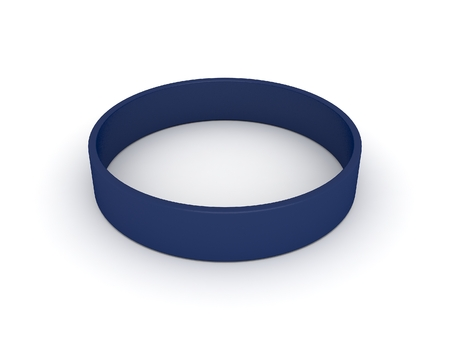 elasticity: blue  wristband