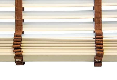 window blinds: Window blinds isolate on white