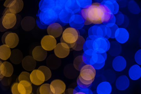 christmas paste: colorful of bokeh background