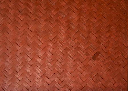 rattan mat: Old woven wood pattern - lomo