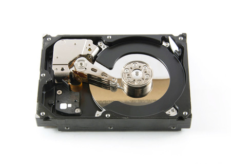 sata: Hard disk drive (HDD) isolate on white background