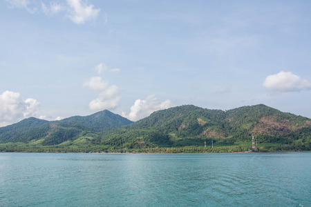 koh: Tropical Islands, Koh Chang,Thailand Stock Photo