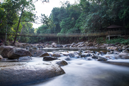klong: Klong Pai Boon Waterfall in Chanthaburi province in Thailand