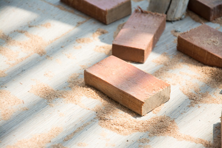 lath: cut natural wood lath