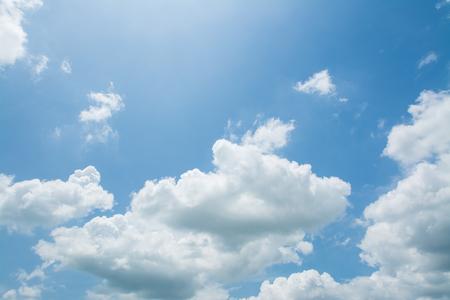 blue sky with cloud  Archivio Fotografico