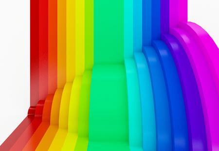 astratto sfondo colorato, 3d